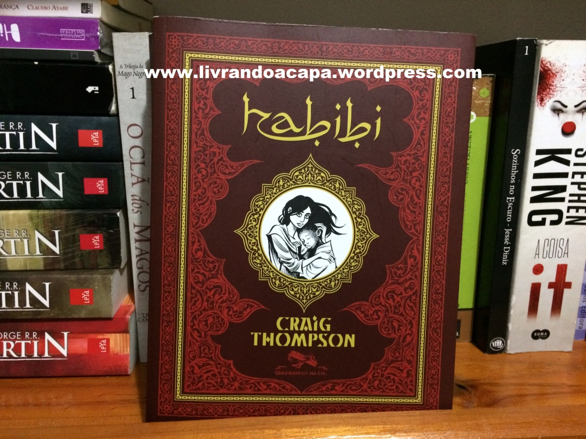 "Resenha de ""Habibi"" do autor Craig Thompson"
